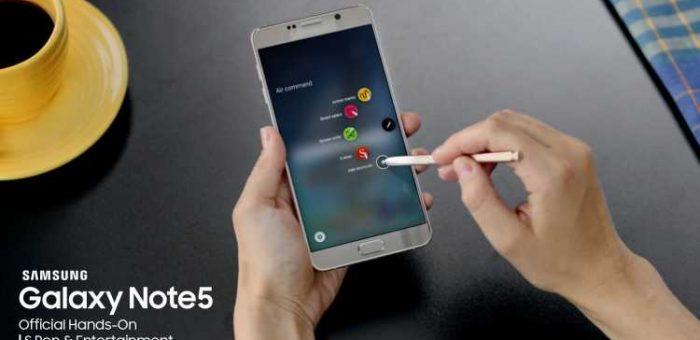 Galaxy Note5 SM-N920C
